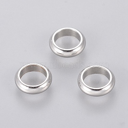 304 Stainless Steel Beads, Ring, 7x2mm, Hole: 5mm(X-STAS-E038-2)