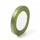 Garment Accessories 3/8inch(10mm) Satin Ribbon(X-RC10mmY052)-1