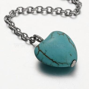 Flower Stainless Steel Lariat Necklaces(NJEW-JN01280-02)-2