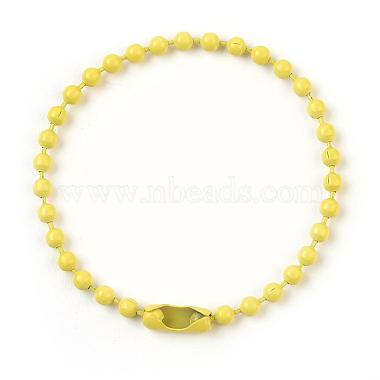 Yellow Iron Ball Chains Chain