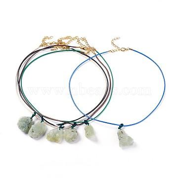 Mixed Color Prehnite Necklaces