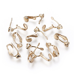 Real Gold Plated Brass Earring Components(KK-L176-12G)