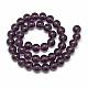 Glass Beads Strands(X-GR8mm06Y)-2
