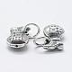 Thai Sterling Silver Pendants(STER-K171-07AS)-1