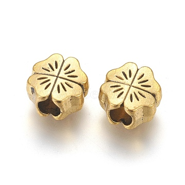 10mm Flower Alloy Beads