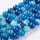 Natural Striped Agate/Banded Agate Beads Strands(X-G-G582-10mm-10)-1