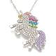 Alloy Pendant Necklaces(X-NJEW-S416-01A)-1
