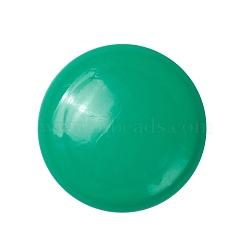aimants de bureau, aimants ronds pour réfrigérateur, pour tableaux blancs, casiers et réfrigérateur, vert, 29x9.5 mm(AJEW-E043-01A-02)