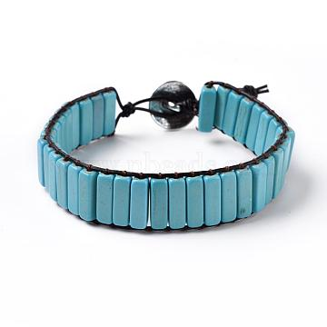 Synthetic Turquoise Bracelets
