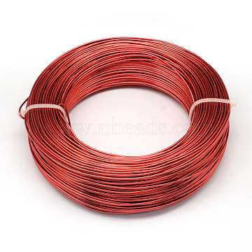1mm Red Aluminum Wire