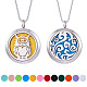 SUNNYCLUE&reg 304 Stainless Steel Pendant Necklaces(NJEW-SC0001-02P)-1