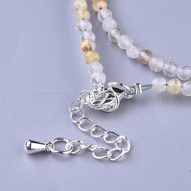 Natural Rutilated Quartz Beaded Necklaces(NJEW-K114-A-A10)-3