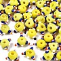 Yellow Others Lampwork Beads(LAMP-S194-003-A03)