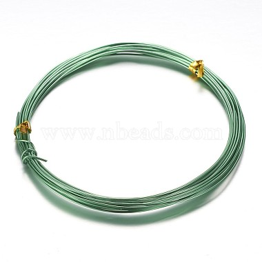 0.8mm Green Aluminum Wire