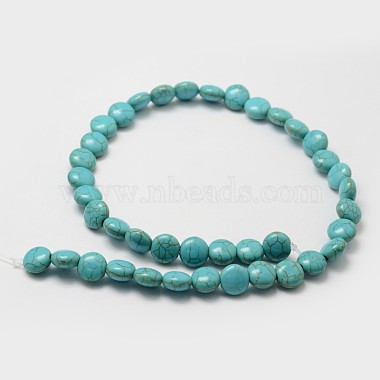Synthetic Howlite Bead Strands(X-G-P228-12-10mm)-2