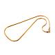 304 Stainless Steel Herringbone Chain Necklaces(X-STAS-M174-015G-03)-2