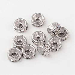 Stainless Steel Color Disc Stainless Steel Spacer Beads(X-STAS-N032-06P)