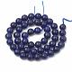 Natural Lapis Lazuli Beads Strands(X-G-S295-18-8mm)-2