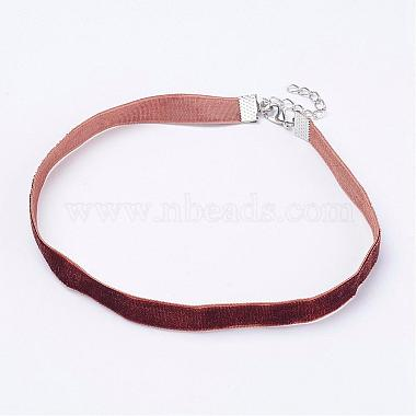 SaddleBrown Cloth Necklaces