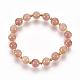 Natural Strawberry Quartz Bracelets Sets(BJEW-JB03913-01)-2
