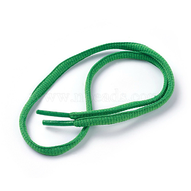 Green Polyester Shoelace