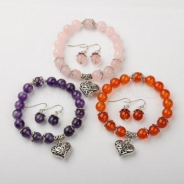 Mixed Stone Bracelets & Earrings