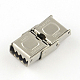 Smooth Surface 201 Stainless Steel Watch Band Clasps(STAS-R063-65)-2