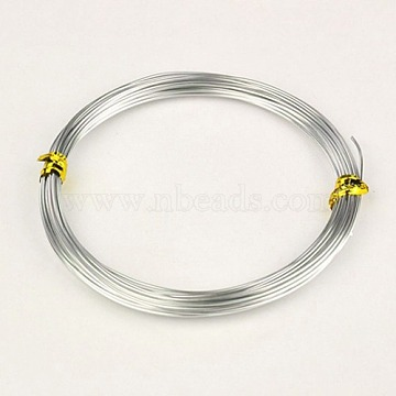 1mm Silver Aluminum Wire