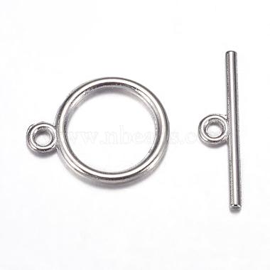 Tibetan Style Toggle Clasps(X-TIBE-A12208-P-NR)-3