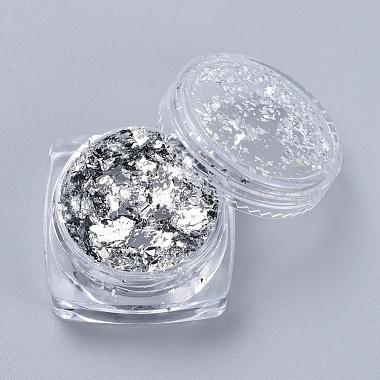 Silver Chip Gold Foil