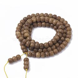 4 - ювелирные украшения буддийского стиля, браслеты из бусин малая, баррель, верблюд, 29.9 (76 см); 108+6 шт / нитка(BJEW-S131-15)
