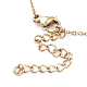 Vacuum Plating 304 Stainless Steel Cable Chain Necklaces(STAS-I145-01G)-2