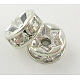 Middle East Rhinestone Spacer Beads(X-RSB038NF-01)-1