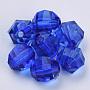 16mm Blue Round Acrylic Beads(X-TACR-Q256-16mm-V44)