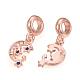 Alloy Enamel European Dangle Beads(X-MPDL-S065-11)-3