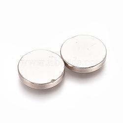 aimants ronds pour réfrigérateur, aimants de bureau, aimants pour tableau blanc, mini aimants durables, 10x1.5 mm(AJEW-D044-03A-10mm)
