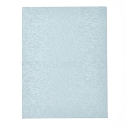 Imitation Leather Fabric, for Garment Accessories, LightSkyBlue, 21x16x0.05cm(DIY-D025-B01)