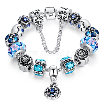 Blue Alloy Bracelets