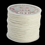 1mm White Waxed Cotton Cord Thread & Cord(YC-D002-06)