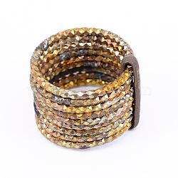 Des supports d'anneau de doigt de laiton, sans nickel, non plaqué, 16mm(RJEW-F070-02C)