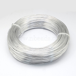 Fil d'aluminium, argenterie, 18 jauge, 1.0mm; 200m / 500g(AW-S001-1.0mm-01)