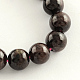 Natural Garnet Gemstone Bead Strands(X-G-R263-8mm)-1