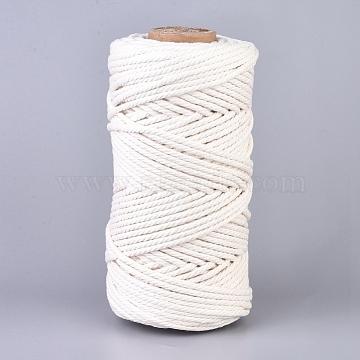 3mm White Cotton Thread & Cord