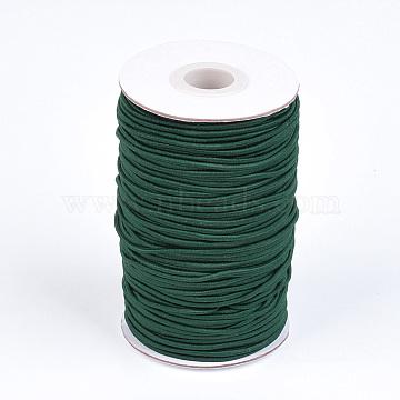 2mm DarkGreen Elastic Fibre Thread & Cord