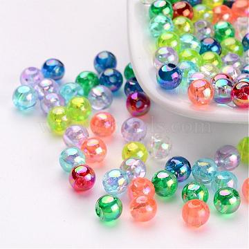 5mm Mixed Color Round Acrylic Beads