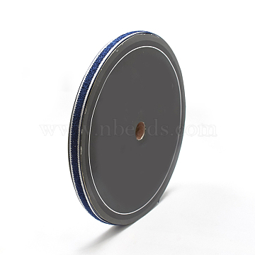 Nylon Ribbons, MarineBlue, 3/8inch(10mm); about 30yards/roll(27.432m/roll)(OCOR-N003-03A)