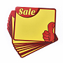Yellow Rectangle Paper Price Tags(DIY-WH0151-31C)