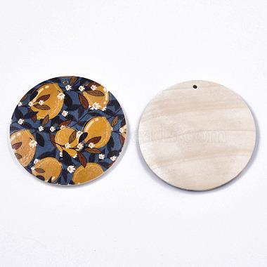 Fruit Seris Printed Wood Pendants(WOOD-S045-103B-01)-2