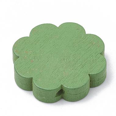 Perles de bois naturel imprimées(WOOD-N001-26-LF)-3