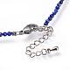 Natural Lapis Lazuli Beaded Necklaces(NJEW-JN02492-01)-3